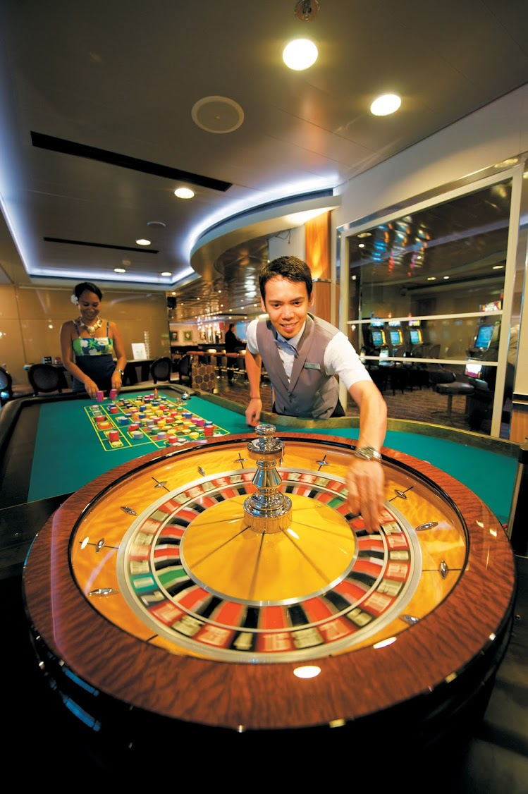 Try your luck at Le Casino aboard the Paul Gauguin.