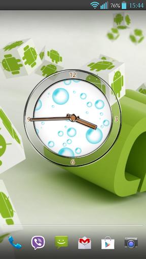 Bubble Clock Widget