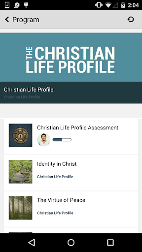 The Christian Life Profile