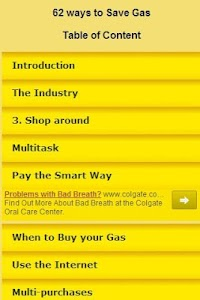 Save Gas SUPER TIPS screenshot 0