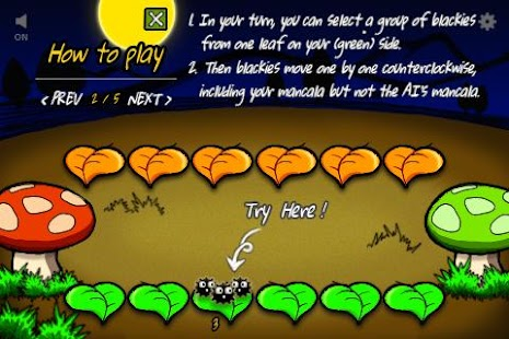 Mancala blackies - screenshot thumbnail