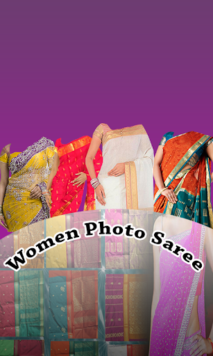 Women Photo Saree