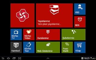 Screenshot of Körfez Dershaneleri