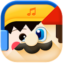 Comic theme: Cute cartoon comic story C launcher icon