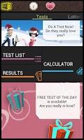 Screenshot of Love: Test Me