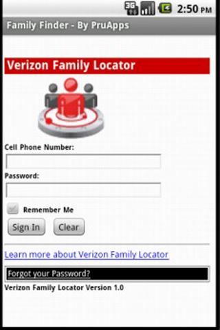 Family Finder (Vz) - screenshot