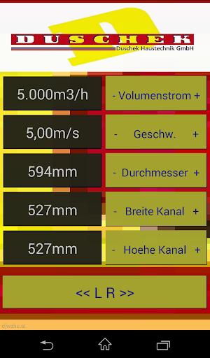 LueftungsQuerschnitt berechnen
