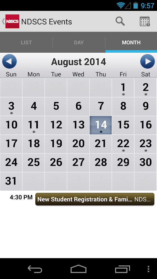 NDSCS- screenshot