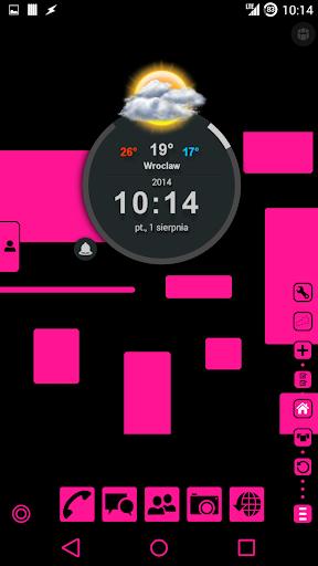 【免費個人化App】Dusky Pink TSF Shell Theme-APP點子