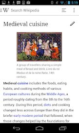 Wikipedia Beta Screenshot 1
