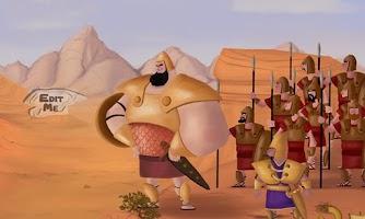 Screenshot of David & Goliath Bible Story