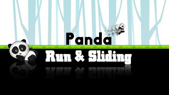 Panda Run Slide