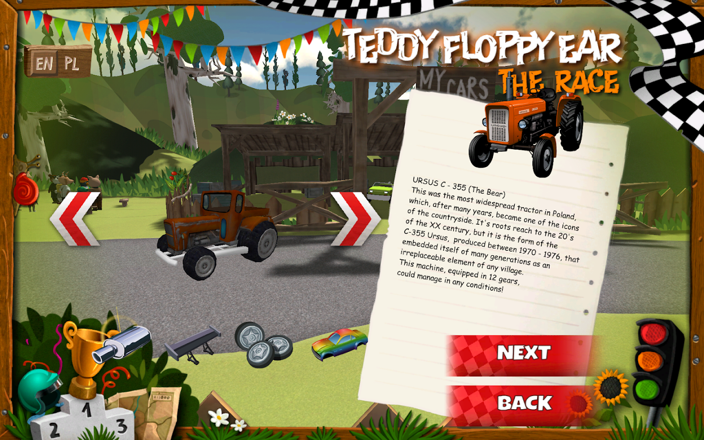 Teddy Floppy Ear: The Race- screenshot
