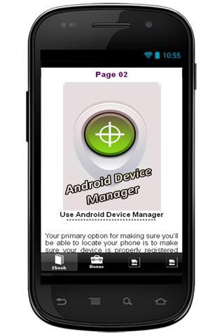 【免費書籍App】Find My Android Phone Guide-APP點子