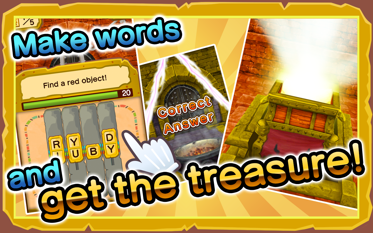 Quiz! Match and Treasure - screenshot