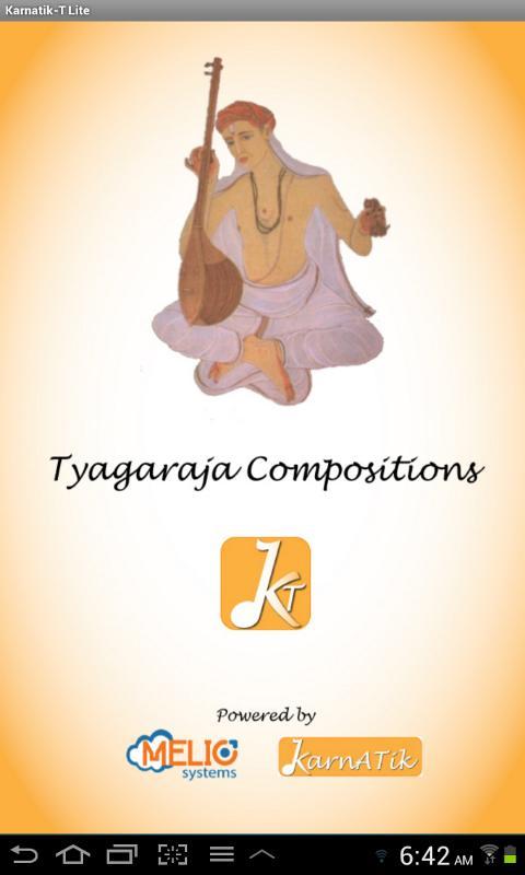 Karnatik Tyagaraja Lite- screenshot