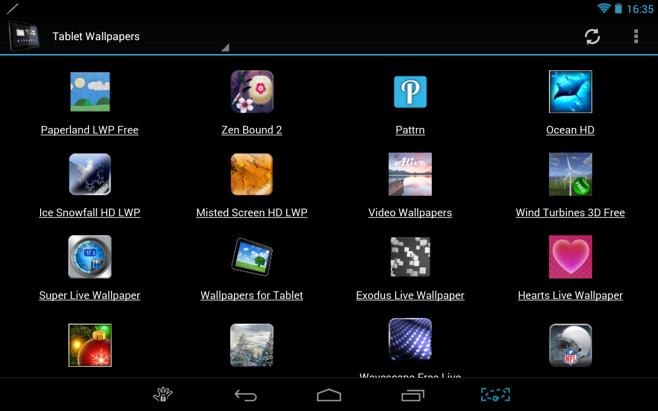 Tablet Market- screenshot
