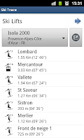 Screenshot of Ski Trace Free - GPS tracker