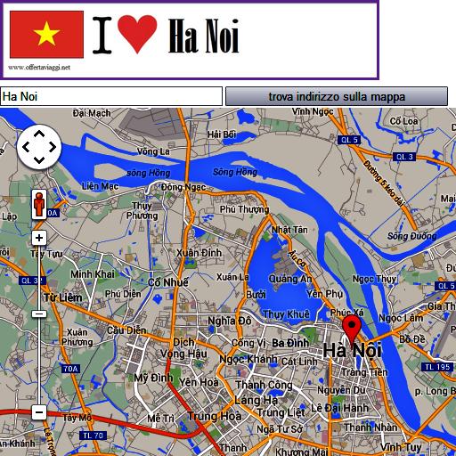 Ha Noi map