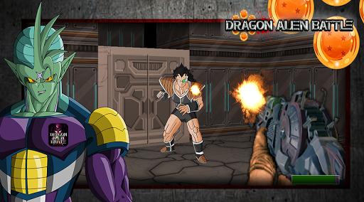 Dragon Z Alien Battle 3D