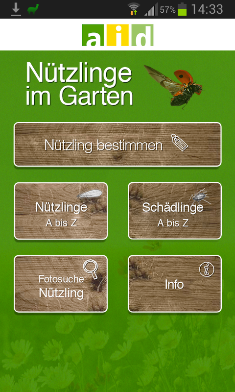n tzlinge im garten android apps auf google play. Black Bedroom Furniture Sets. Home Design Ideas