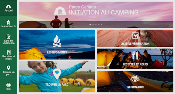 Initiation au camping - screenshot thumbnail