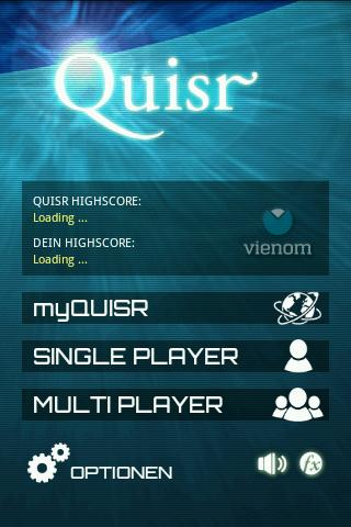 Quisr | 1-2 Player Quiz - screenshot