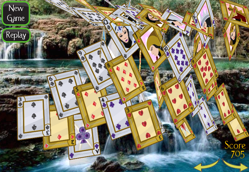 Solitaire 3D (old) - screenshot