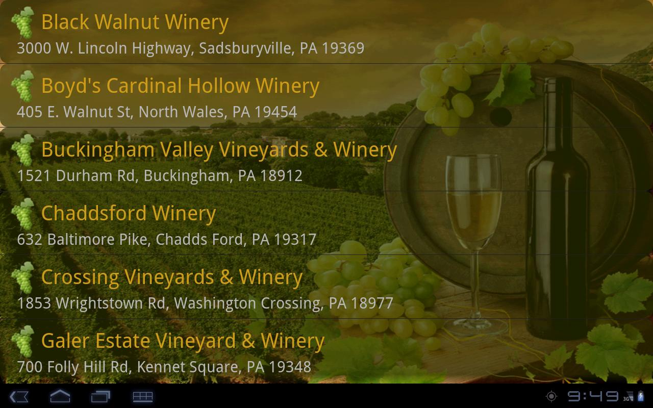Wine Country - screenshot