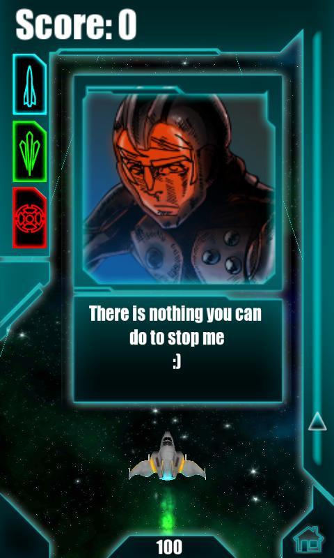 Galactic Striker 3D Free- screenshot