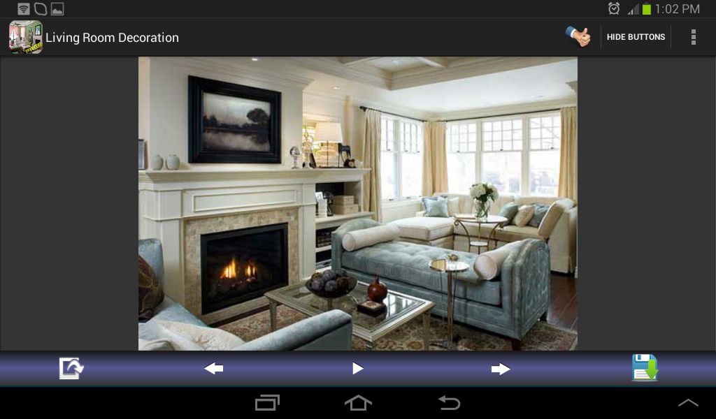 Living room decoration designs aplicaciones android en Design my living room app