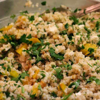 Golden Beet and Bulghur Salad