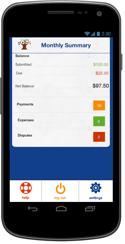 SupportPay - Child Support- screenshot