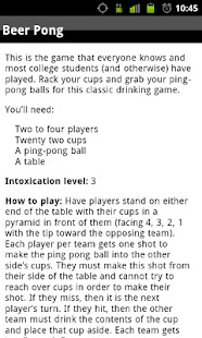 #1 Drinking Game Rulebook - screenshot thumbnail
