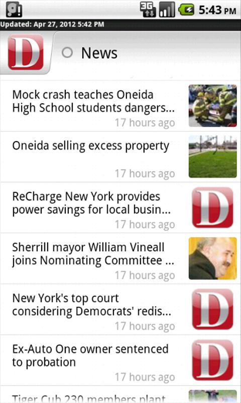 Oneida Dispatch for Android - screenshot