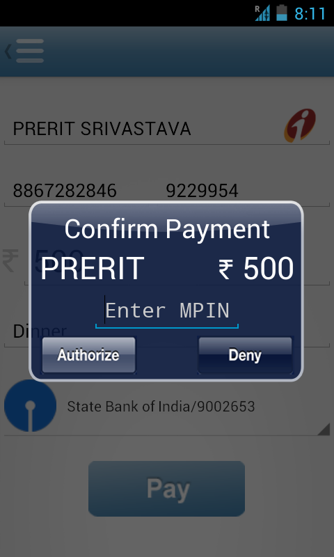 X-Pay - screenshot