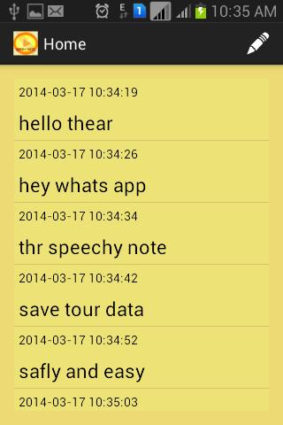 Speechy Note