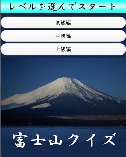 富士山クイズ