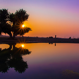 by Umair Khan - Landscapes Sunsets & Sunrises ( silhouette )