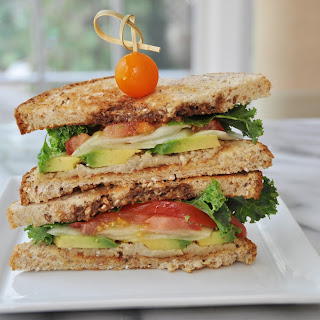 Summer Sandwich with Smoky Bacon Olive Oil
