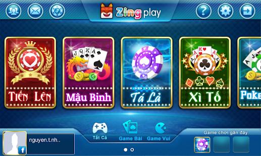 ZingPlay - Zing Play -Game bai