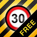 iSpeedCam (Speed Camera Alert) icon
