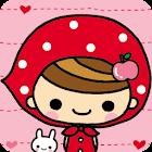 페어리테일 레드 카카오톡 테마 icon