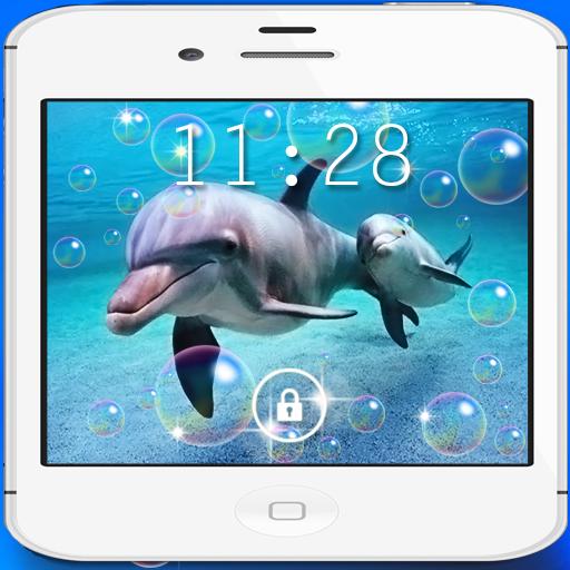 Dolphins Beach live wallpaper LOGO-APP點子