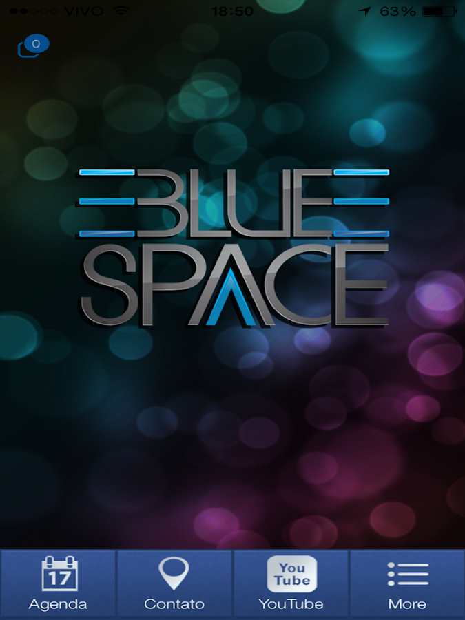 Blue Space- screenshot