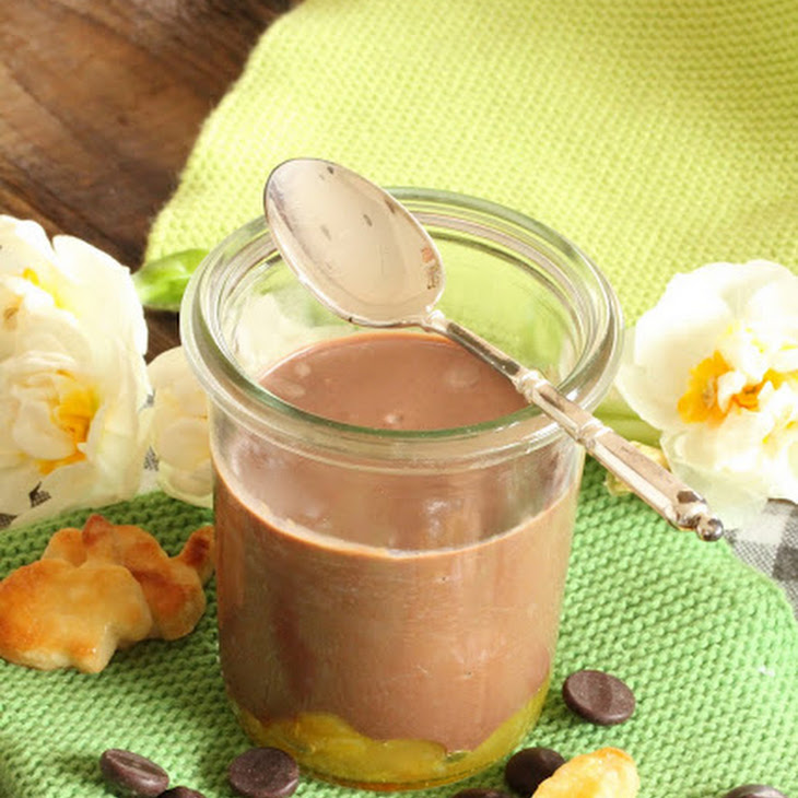 Chocolate and Orange Cream Jars and Adorable Easter Bunnies Recipe