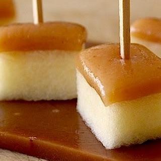 Amaretto-Spiked Caramel Apple Bites
