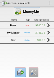 MoneyMe, Expenses manager v1.8.35