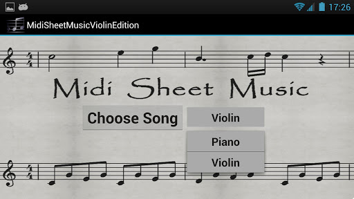【免費音樂App】Midi Sheet Music - Violin Ed.-APP點子