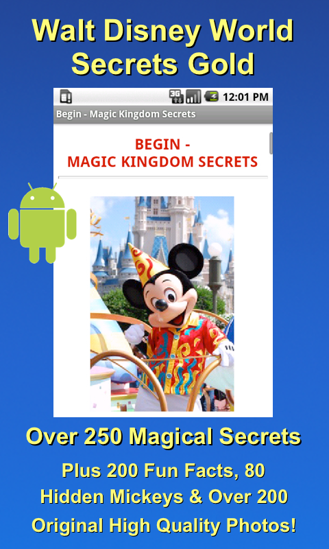 Disney World Secrets Gold! - screenshot